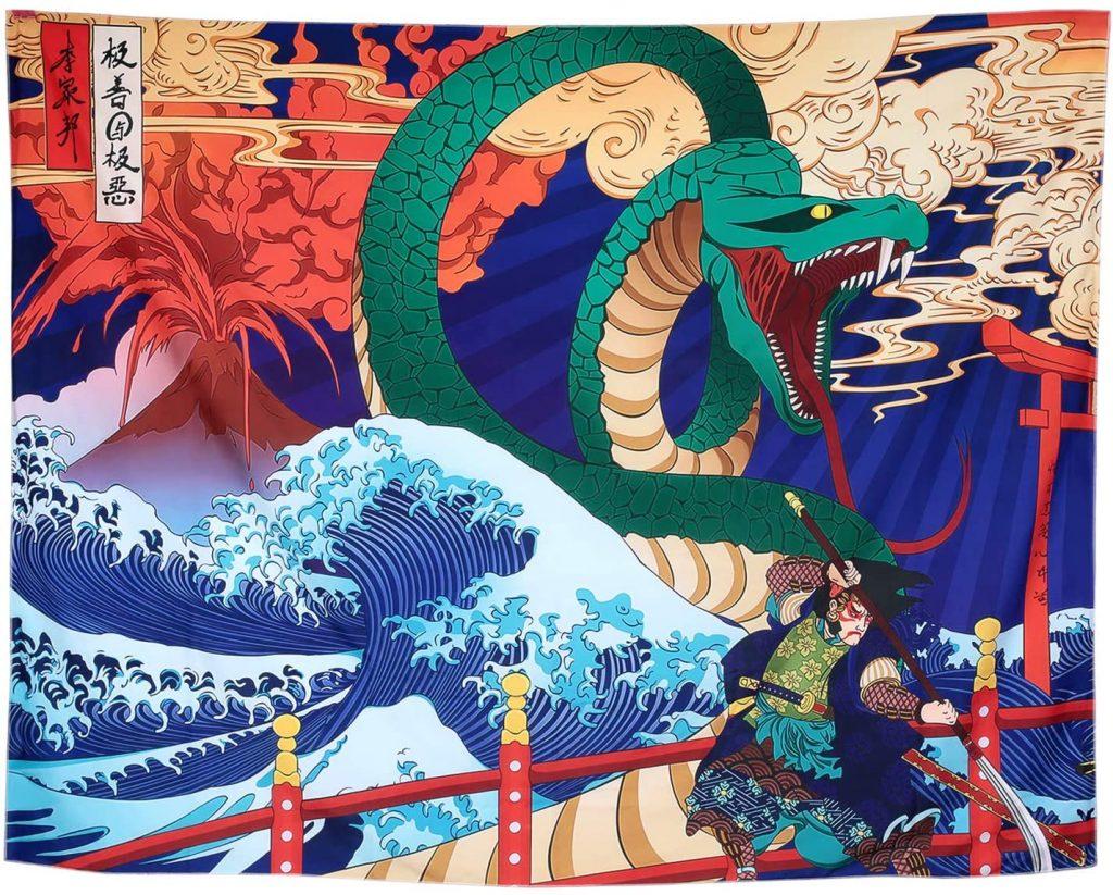 ONLINE LIKOVNA KOLONIJA za osnovnoškolce na temu japanske umjetnosti