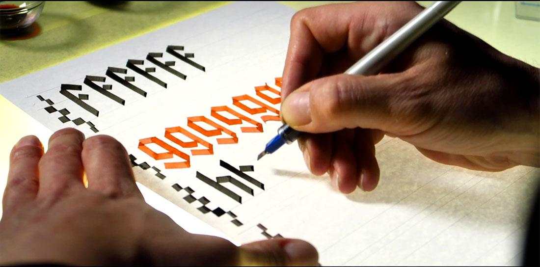 ONLINE Tečaj kaligrafije