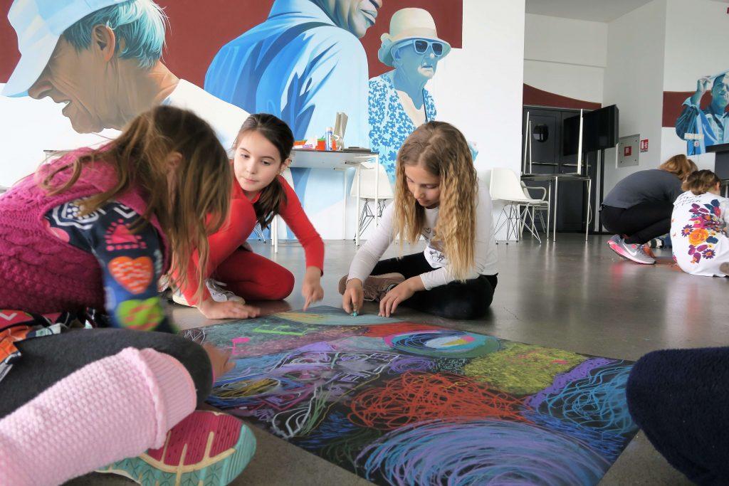 Izložba radova s umjetničke akcije E' ora di intervenire! u MSU!