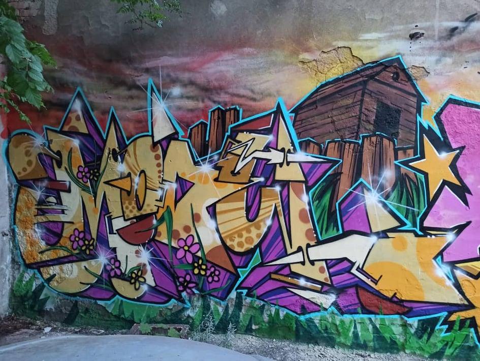 GRAFFITI TEČAJ za osnovnoškolce Omart radionice