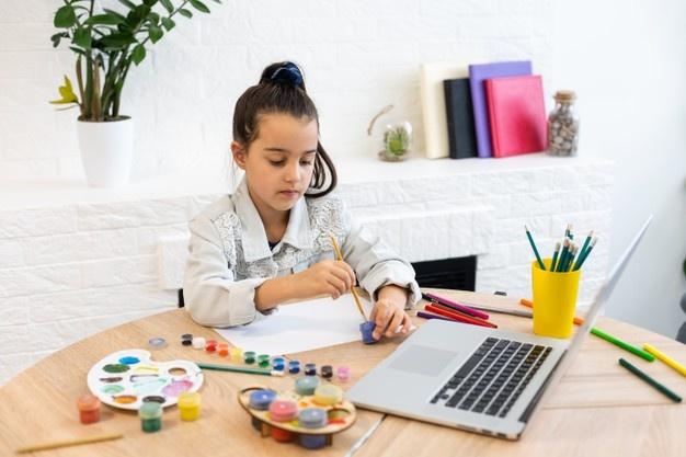 Likovne radionice Online za osnovnoškolce